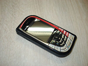 Original Nokia 7610 Black Red Black Red without Simlock new