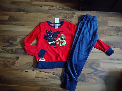 Nicki Schlafanzüge, Pyjama Gr.122/128 mit Batman Lego von H&M