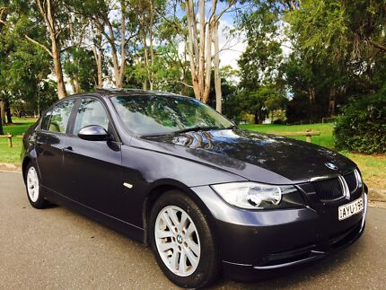 2006 BMW 320i Sedan E90 Low Kms Automatic Grey Moorebank Liverpool Area Preview