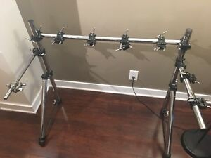 Dixon / Gibraltar Custom Drum Rack with Clamps