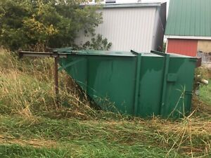 Steel bin for sale