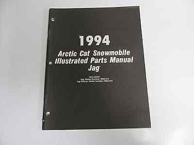 Arctic Cat Illustrated Parts Manual 1994 Jag 2254-975