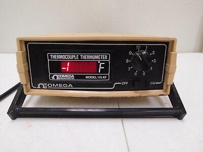 Omega 115 Kf Thermocouple Thermometer