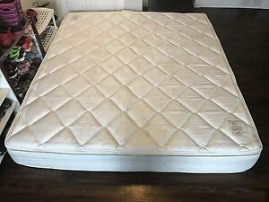 King size pillow top mattress and box spring