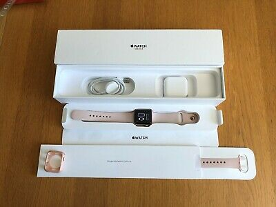 Boxed Apple Watch Series 3 38mm Rose Gold GPS & Cellular - Perfect Condition