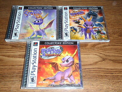 Spyro Collectors Edition Trilogy Playstation Games Complete