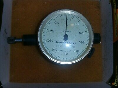 Unused Brown And Sharpe 599-8141-611 Dial Indicator