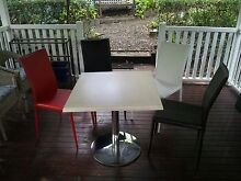 Cafe table and 4 chairs Toowong Brisbane North West Preview