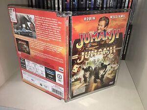 DVD-Jumanji-Super-Jewel-Box-Ologramma-Robin-Williams-RARO