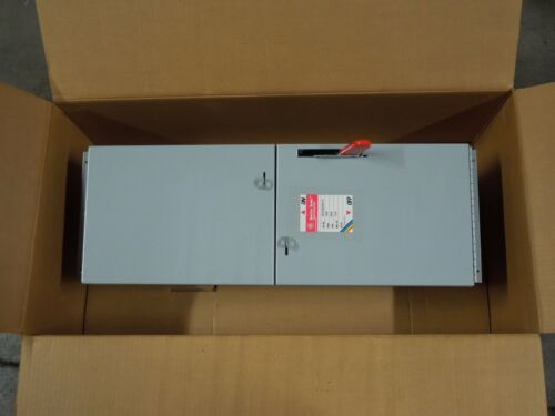 Ge Ads36200ts 200a 600v 3ph Single Fusible Switch Unit New Surplus