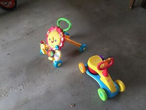 Kids walker and push bike ages 6m - 2 yr