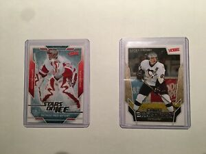 Cartes hockey victory 2007 game breaker/star on ice