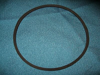 "NEW K34 V BELT 5/16 wide X 34"" outside length."