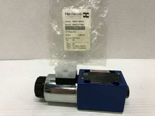 Rexroth R900554753 Hydraulic Directional Control Valve 4WE-6-D62/EG24K4 24VDC