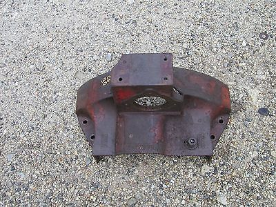 Cockshutt 30 tractor starter holder transmission flywheel inspection cover