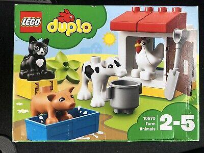 LEGO Duplo Town Farm & Animals Figures 10870 Educational Toy Set *NEW SEALED*