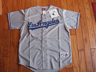 Los Angeles Dodgers Away Gray Jersey w/Tags  Size L