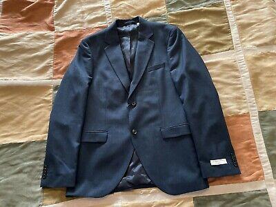 $465 Tiger of Sweden jamontex navy blazer sport coat 50 R euro / 40 usa men NEW