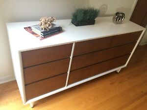 Mid century dresser sideboard cabinet tv media stand console