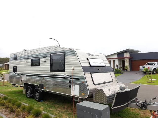 Innovative On The Move Caravans Off Road 20ft Traxx Series  Caravans  Gumtree