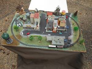 'N' SCALE MODEL TRAIN LAYOUT Grafton Clarence Valley Preview