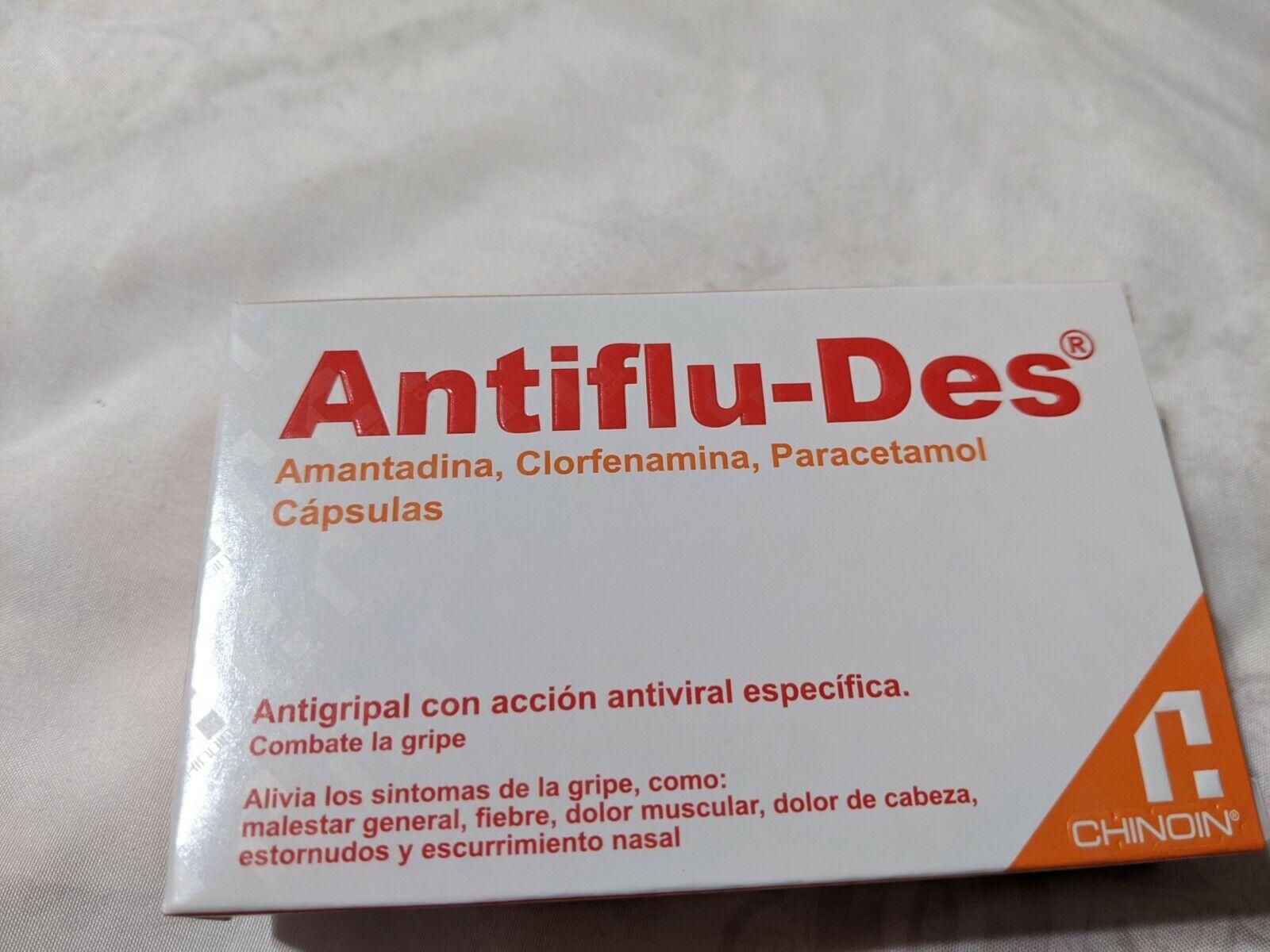 Antiflu-Des Antigripal con Accion Antiviral Especifica Cold