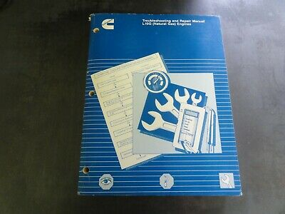 Cummins L10g Natural Gas Engines Troubleshooting And Repair Manual 3666207