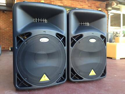2x 1,200 Watt Behringer B815NEO 15 inch Active PA Speakers!!! Werribee Wyndham Area Preview