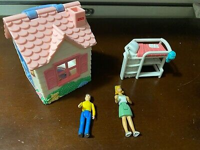 Sweet Streets Girl's Club Dollhouse-DOll Lot-Retired 2002 Mattel Fisher Price