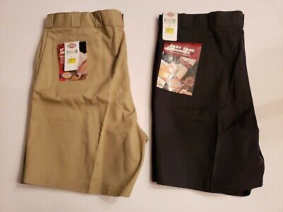 Dickie Classic Shorts (Dickies Mens Easy Care Classic Fit Work Shorts Lot Of 2 Size 48)
