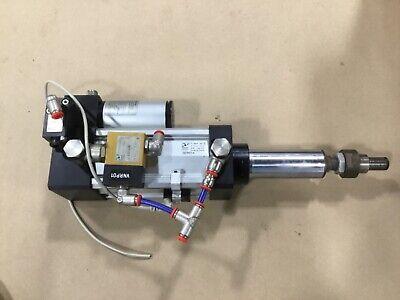 Pneumax 0atr217.a Air Over Hydraulic Cylinder6.09.14.un 09t12