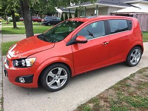"2012 Chevrolet Sonic LT ""LOW KM"""