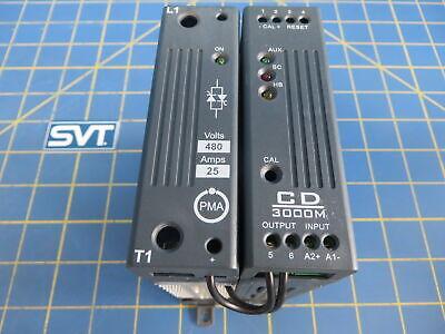 Acoris Pma Cd3000m Scr Ssr Thyristor Power Controller 1p 25a 480v