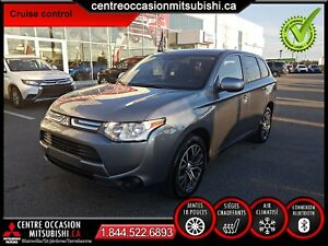 Mitsubishi Outlander ES 2014, AIR CLIM, BLUETOOTH, CRUISE, MAGS
