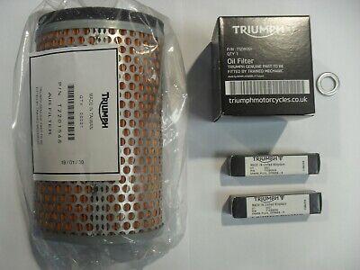 TRIUMPH THRUXTON  SCRAMBLER SERVICE KIT WITH FILTERS GENUINE PARTS