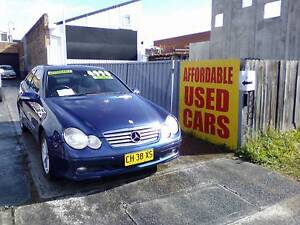 2001 Mercedes-Benz C200 Coupe 1 Year Warranty Woy Woy Gosford Area Preview