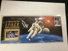 US 2842 & 2841a 1994 A Tribute to Space Exploration USPS Souvenir Cover Sealed