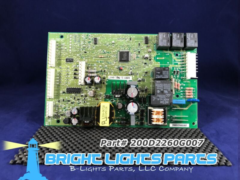 Ge Main Control Board For Ge Refrigerator 200d2260g007 / Wr55x10333 Green