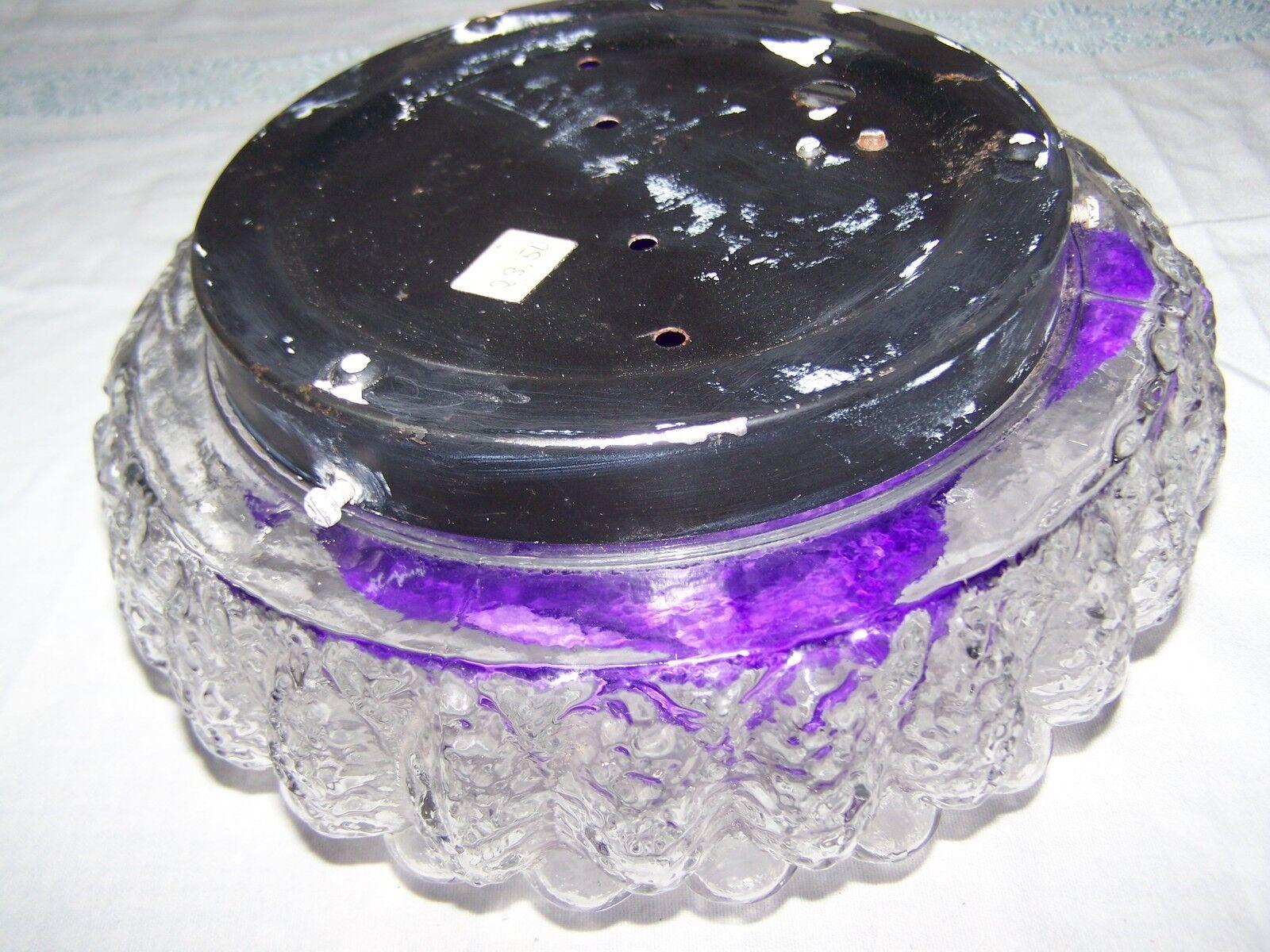 bubble glasschirm f r deckenlampe leuchte 70er jahre sonne eur 12 00 picclick de. Black Bedroom Furniture Sets. Home Design Ideas