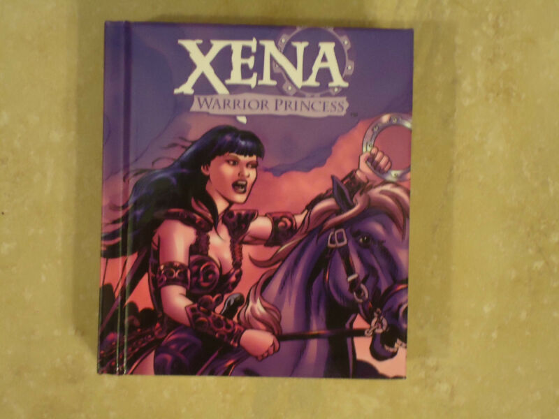 """""""Xena Warrior Princess"""" Mighty Chronicles Hardcover Book, New"""
