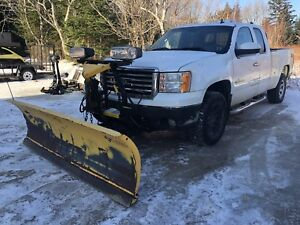 7.5' HD Fisher Minute Mount II Plow