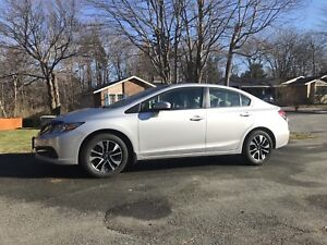 2015 Honda Civic EX Sedan Lease Takeover