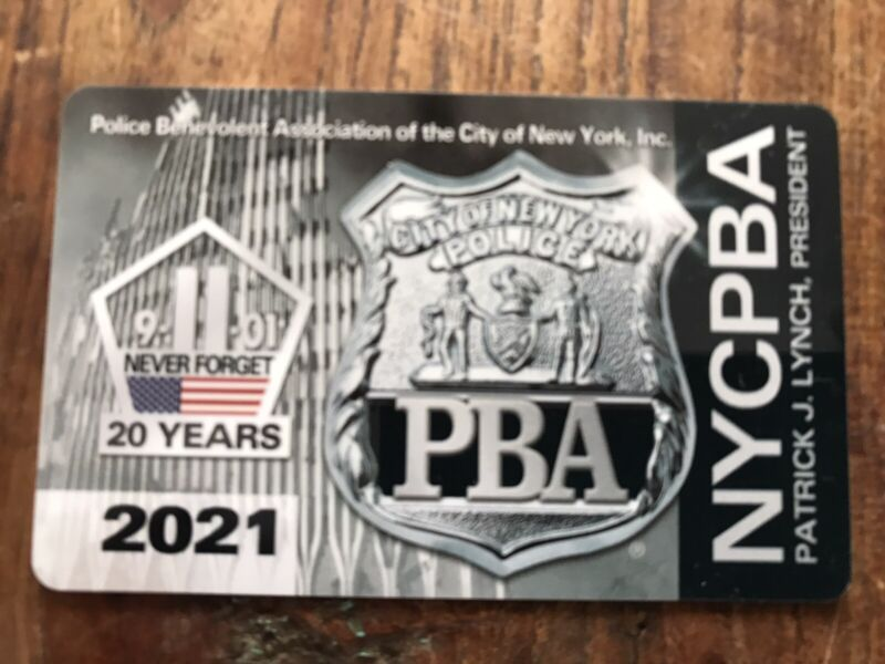 New 2021 NYPD NYC PBA