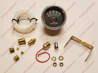 Oil Pressure Gauge For Ford Tractor 2n 8n 9n 600 700 800 900 2000 3000 4000 1801