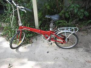 Folding bike to fit in caravan Corindi Beach Coffs Harbour Area Preview