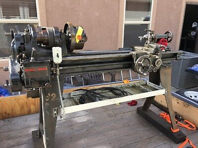 11 South Bend Metal Lathe Model No. 84-b