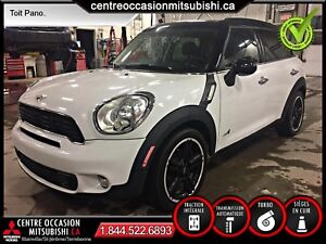 MINI Cooper S Countryman  ALL4 TURBO AUTOMATIQUE TOIT PANORAMIQU