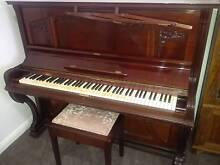 Schiedmayer Upright Piano, German, Brilliant Tone, $ 2,500 Pitt Town Hawkesbury Area Preview