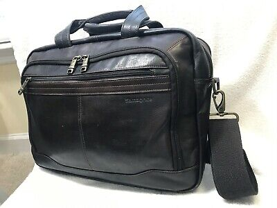 Samsonite Columbian Brown Leather Top Loader Briefcase