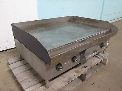 Hobart Cg58 Heavy Duty Commercial 36 Electric 3 Ph Flat Top Grillgriddle